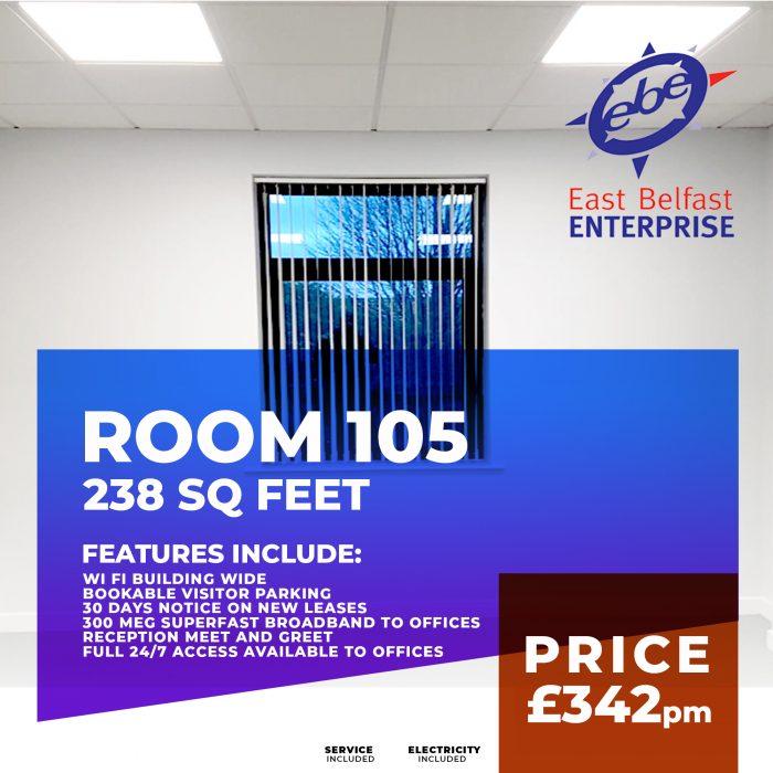 room rental 105