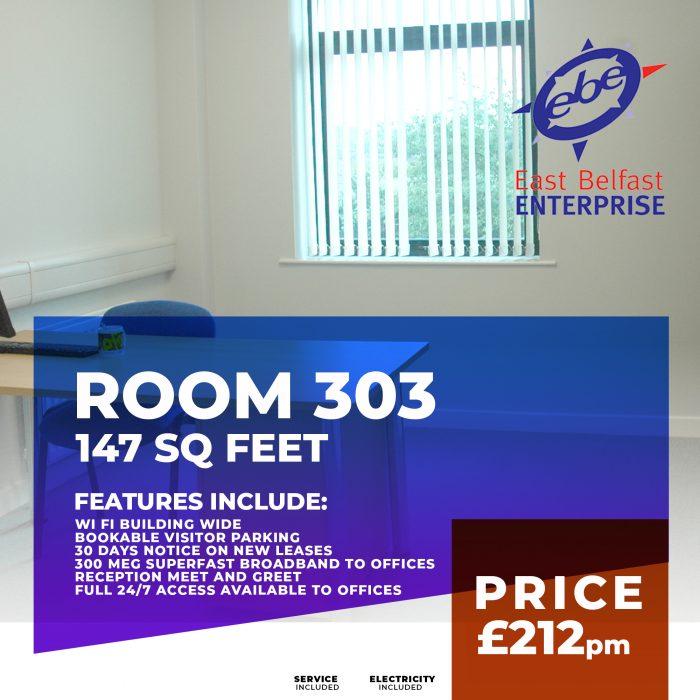 room rental 303